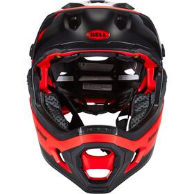 Bell Super DH MIPS Helm matt/gloss red/black fasthouse